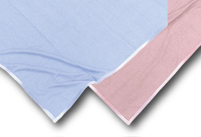 麻混のタオルケット・麻の敷きパット