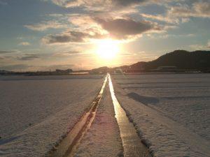 冬の朝のイメージ