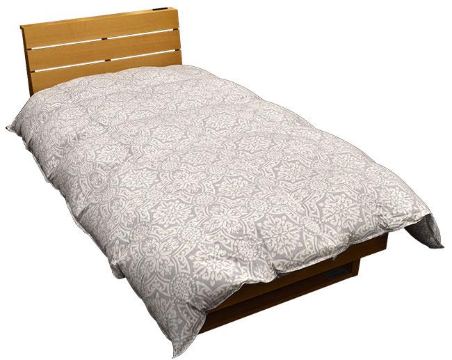 冬物寝具最終セールを催しています