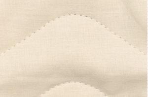 本麻ピローパット、表面リネン生地の拡大図