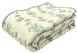 ウール毛布のイメージ。ウール毛布は吸湿性が高い
