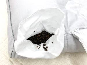 医師がすすめる健康枕・もっと首楽寝枕調節ポケット拡大