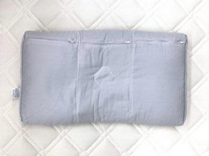 医師がすすめる健康枕・もっと首楽寝枕の本体画像正面裏